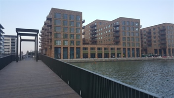 Great Eastern Quays nearing completion