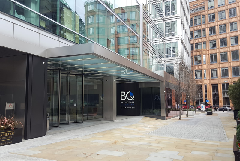 Broadgate Quarter for Gemini Commercial Investments