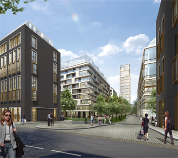 Design work commences on Kensington Row