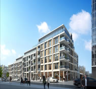 Construction begins on Goswell Road, Islington