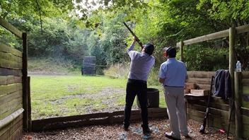Manhire Associates shooting in aid of Royal Trinity Hospice