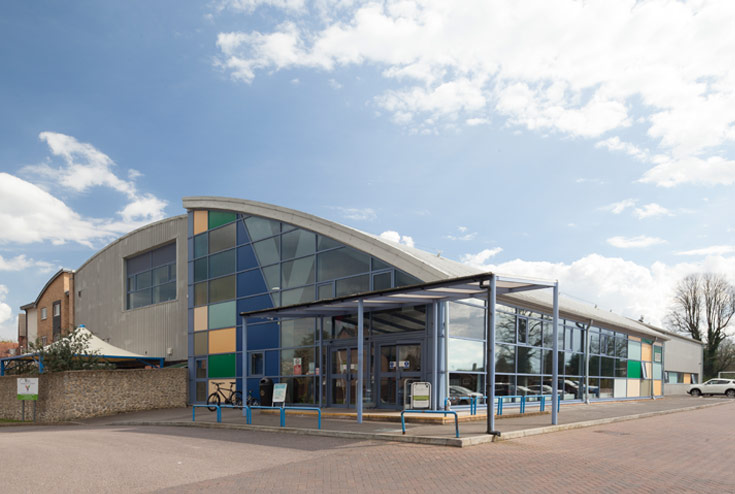 We work in a variety of sectors - YMCA Sports Centre, Maidstone